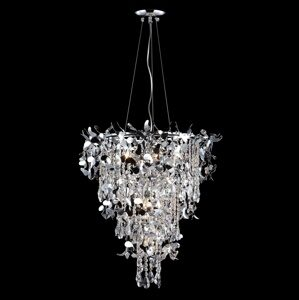 Подвесная люстра Crystal Lux Romeo ROMEO SP10 CHROME D600